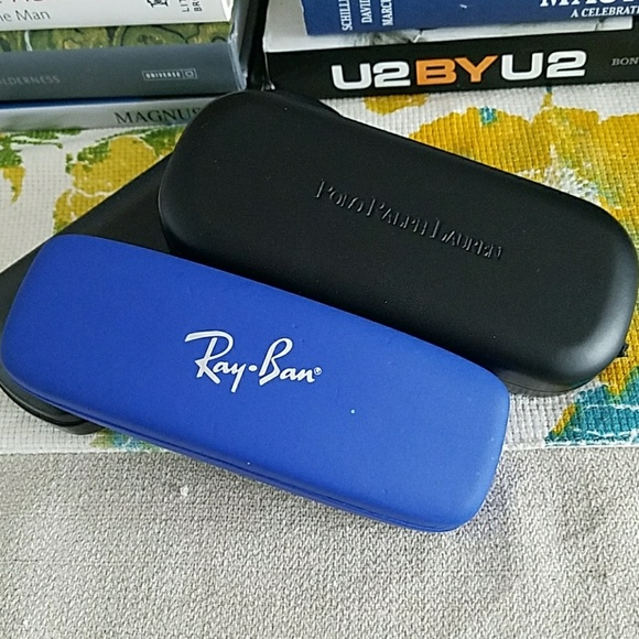 Banpolo Ralph Lauren Glasses Case Authentic Ray Fc3TluK1J